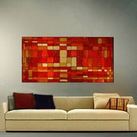 ORIGINAL ABSTRACT Original Painting Large by americanartsgallery