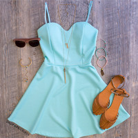 Amèlie Dress - Mint