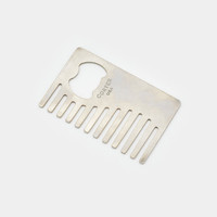 Credit Card Comb & Bottle Opener