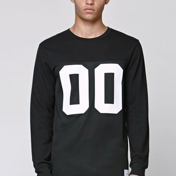 On The Byas Aaron Crew Jersey - Mens Shirt - Black