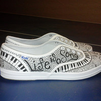 Keds Custom Music Shoes Any Size