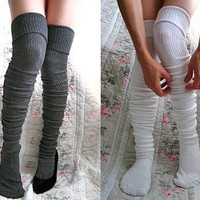 Long Cuffable Scrunchable Socks