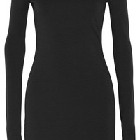 The Row - Hunting stretch modal-blend mini dress