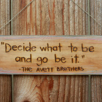 Woodburn quote sign by begonia08 on Etsy