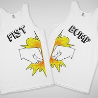 Fist Bump Best Friends Tank