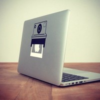 Polaroid Macbook Decal