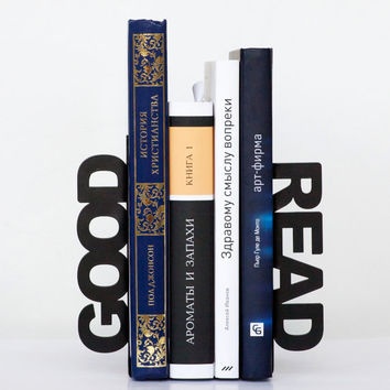 Modern bookends Good read for home or by DesignAtelierArticle