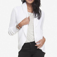 TUCK STITCH COCOON COVER-UP from EXPRESS
