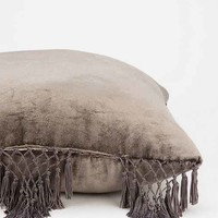 Magical Thinking Velvet Fringe Pillow-