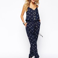 Denim & Supply By Ralph Lauren Rosebud Jumpsuit