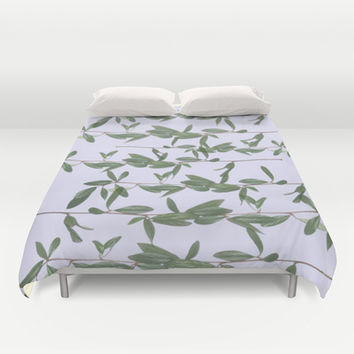 bucket Duvet Cover by Austeja Saffron