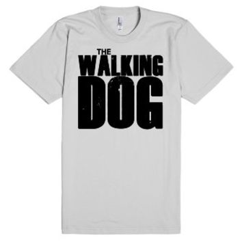 The Walking Dog - Parody T Shirt-Unisex Silver T-Shirt