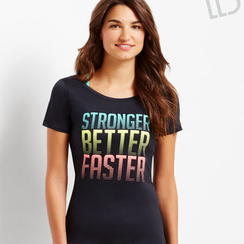 LLD Stronger Better Faster Performance T