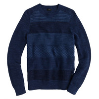 J.Crew Mens Faded Stripe Cotton Sweater