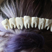 Teeth Hair Clip