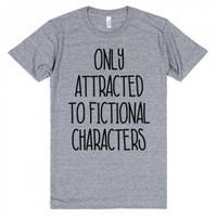 Only Attracted To Fictional Characters