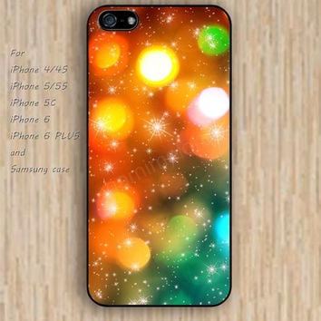 iPhone 5s 6 case sparkle lighting Dream catcher colorful cartoon phone case iphone case,ipod case,samsung galaxy case available plastic rubber case waterproof B469