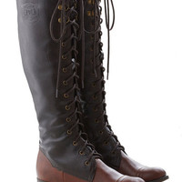ModCloth Safari, French Chocolate Craving Boot
