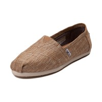 Womens TOMS Classic Burlap Slip On Casual Shoe