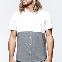 RVCA Smoother Out Short Sleeve Woven Shirt at PacSun.com