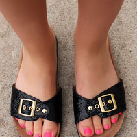 Leave A Little Sparkle Sandal