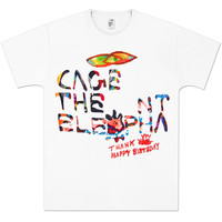 Cage The Elephant Thank You Happy Birthday T-Shirt