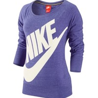 Nike Women's Gym Vintage Crew Quarter Length Shirt | DICK'S Sporting Goods