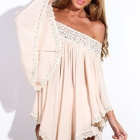 Only To Be With You Dress Beige