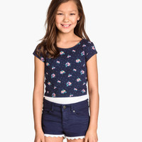H&M Short Jersey Top $9.95
