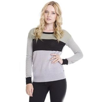 One Grey Day Women's Echo Pullover Designer Sweaters