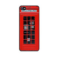 Handmade case with custom design of London Telephone for iPhone 4S - Made to Order - Fast Shipping with Tracking number from USA -
