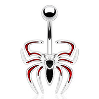 Belly Ring-Spider