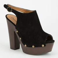 Qupid Insight Womens Heels Black  In Sizes