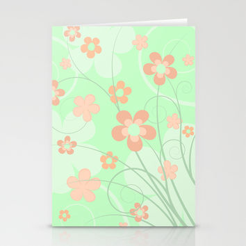 Spring floral Stationery Cards by EDrawings38