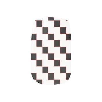 Square Pattern Nail Stickers