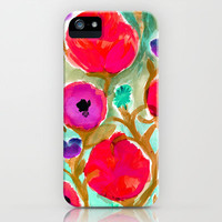 Fiona Flower iPhone Case by Crystal Walen   Society6