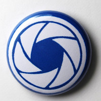 Lens - 1 inch Button, Pin or Magnet