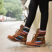 Hippie Tribal Boots