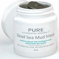 Dead Sea Mud Facial Mask + FREE BONUS EBOOK! - Ancient Natural Facial Mask and Acne Treatment - Anti Aging Mask, Pore Cleanser & Pore Minimizer, Exfoliator & Natural Moisturizer for Women, Men & Teens - Restores Your Skin's Natural Radiance - Heals Acne, A