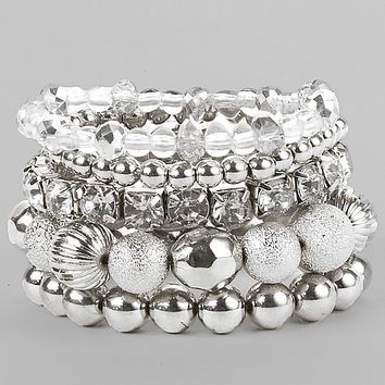 Women's Stretch Bracelet Set