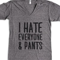 Athletic Grey T-Shirt | Funny Lazy Shirts