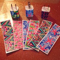 Lilly Pulitzer Inspired iPhone Charger Wrap