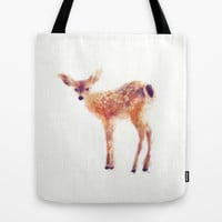 Fawn Tote Bag by Amy Hamilton