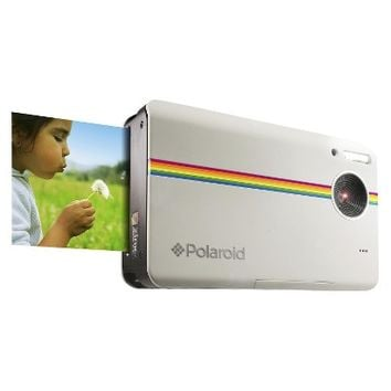 Polaroid Z2300 10MP Digital Instant Point & Shoot Camera with 6X Digital Zoom - White