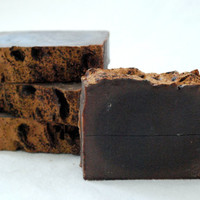 Cocoa Soap - 4 oz Handcrafted Cold Process Soap, Chocolate, Cocoa Butter