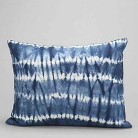Magical Thinking Crazy Tie-Dye Pillow- Blue One