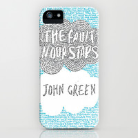 The Fault in Our Stars iPhone & iPod Case by S. L. Hurd