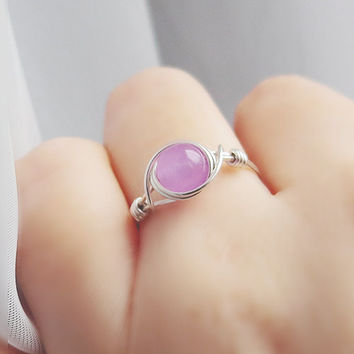 Purple Candy Ring - prom rings