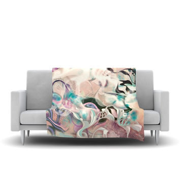"Mat Miller ""Fluidity"" Fleece Throw Blanket"