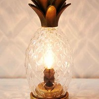 Plum & Bow Pineapple Table Lamp- Clear One